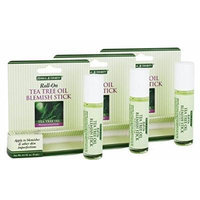 Herbal Authority Roll-on Tea Tree Oil Blemish Stick 0.3oz (Pack of 3)