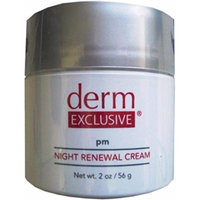 Derm Exclusive pm Night Renewal Cream-2.0 oz/56 g