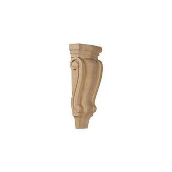 Ekena Millwork 4.75-in x 10-in Maple Traditional Wood Corbel