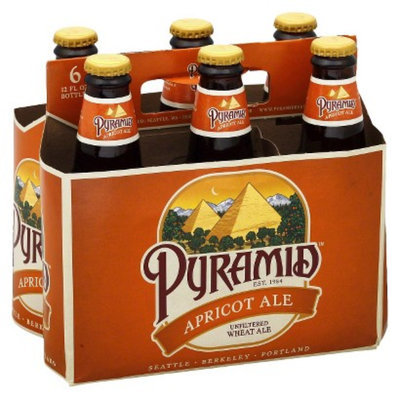North American Breweries Pyramid Apricot Ale Bottles 12 oz