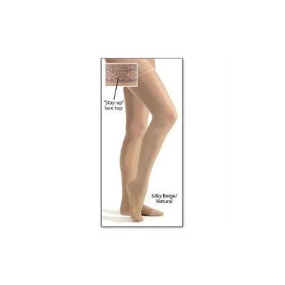 Jobst Ultrasheer Thigh Highs Stockings, 8-15 Mmhg Compression, Sun