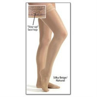 Jobst Ultrasheer Thigh Highs Stockings, 8-15 Mmhg Compression, Black