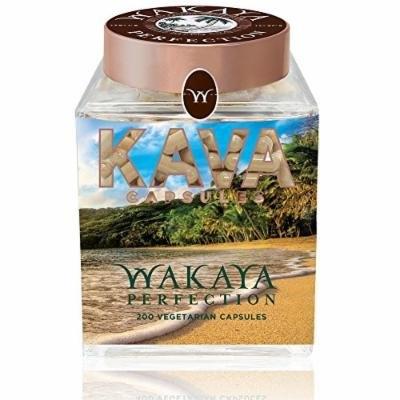 Wakaya Perfection Kava Capsules (200 Vegetarian Capsules)