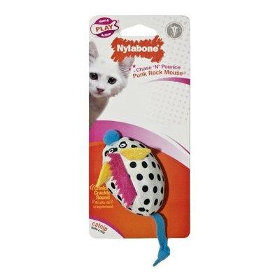 Nylabone Cat Play Chase 'n Pounce Punk Rock Mouse