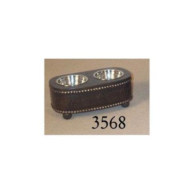 Passport Accent Furniture Pet Feeder Pet Bowl #3568 - Dog Feeders & Waterers