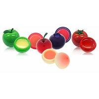 [TONYMOLY] Mini Lip Balm 7g (Cherry + Blueberry + Peach + Green Apple + Cherry Tomato = Total 5pcs Set)
