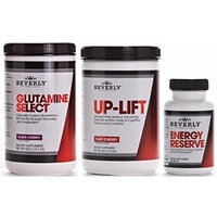 Beverly International Glutamine Select, Up-Lift & Energy Reserve Endurance Stack 5% OFF