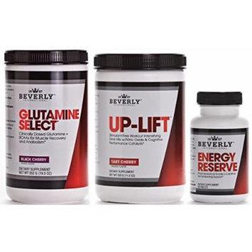 Beverly International Glutamine Select, Up-Lift & Energy Reserve Endurance Stack 5% OFF