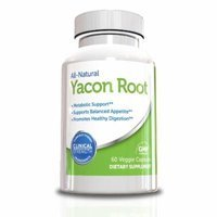 Yacon Root Extract-Colon Detox and Weight Loss Supplement, 60 Capsules, 30 day Supply, Helps Support Healthy Digestion, Faster Metabolism and Fat Burning, New Year New Body 2015 Top Weight Loss Supplement