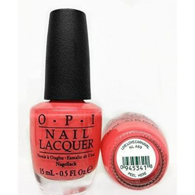 OPI Nail Lacquer 0.5oz/15ml - BRAZIL Collection Spring/Summer 2014 (OPI NLA69 - Live.Love.Carnaval)
