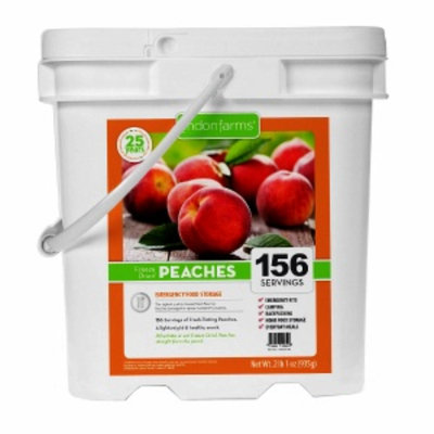 Lindon Farms Freeze Dried Peaches, 156 Servings, 1 ea