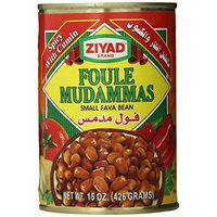 Ziyad Beans Fava Spicy, 15-Ounce (Pack of 6)