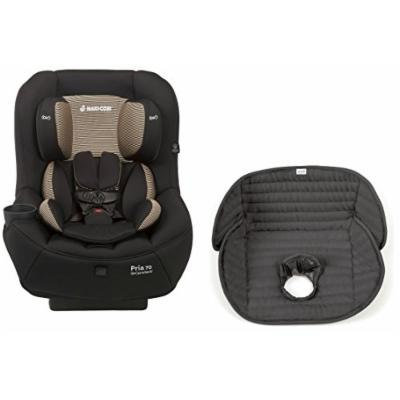 Maxi-Cosi Pria 70 Convertible Car Seat with Easy Clean Fabric and Waterproof Seat Liner, Black Toffee