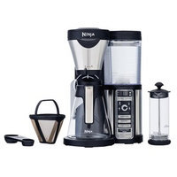 Ninja CF081 Coffee Bar Brewer with Glass Carafe and Reusable Filter