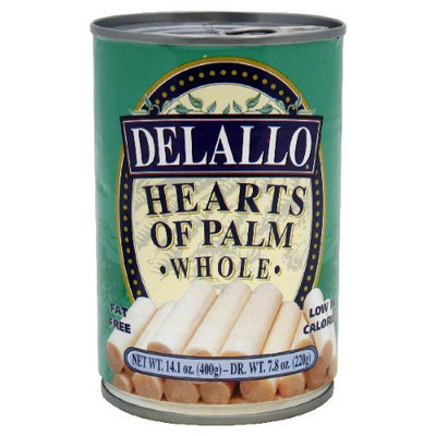 Delallo Heart Of Palm Whole 14.1 Oz -Pack of 12
