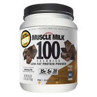 Muscle Milk MUSCLE MILK 1.65 Pound Powder Sports Performa chocolate