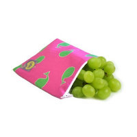 Itzy Ritzy Snack Happens Reusable Snack Bag, Whale Watching Pink (Discontinued by Manufacturer)