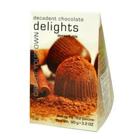 Foxy Gourmet Decadent Chocolate Delights Mix, 3.2 Ounce Boxes (Pack of 3)
