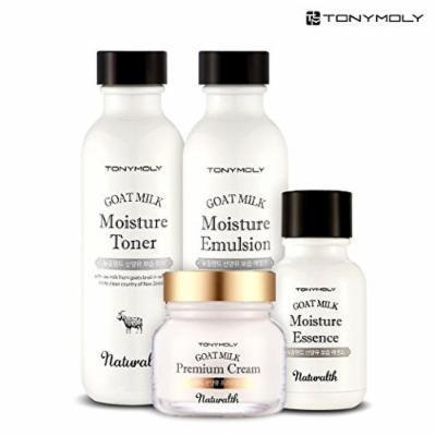[TONYMOLY] Naturalth Goat Milk Moisture Skin Care Set (4 Set-2)