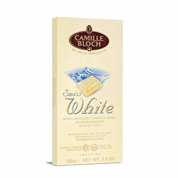 Camille Bloch Choco Bar White 3.5 Oz