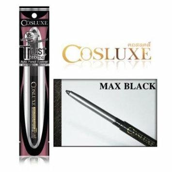Cosluxe TRUST me Auto Pencil Eyeliner # MAX BLACK