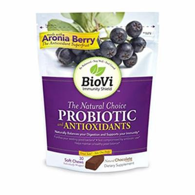BioVi Probiotic and Antioxidants - Chocolate 30 Chwbls