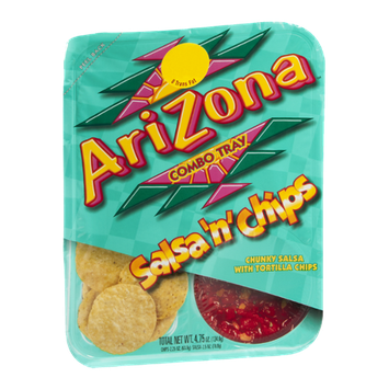 AriZona Combo Tray Salsa n Chips