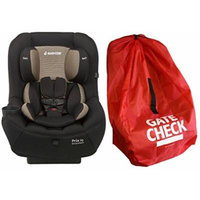 Maxi-Cosi Pria 70 Convertible Car Seat with Easy Clean Fabric and Gate Check Bag, Black Toffee