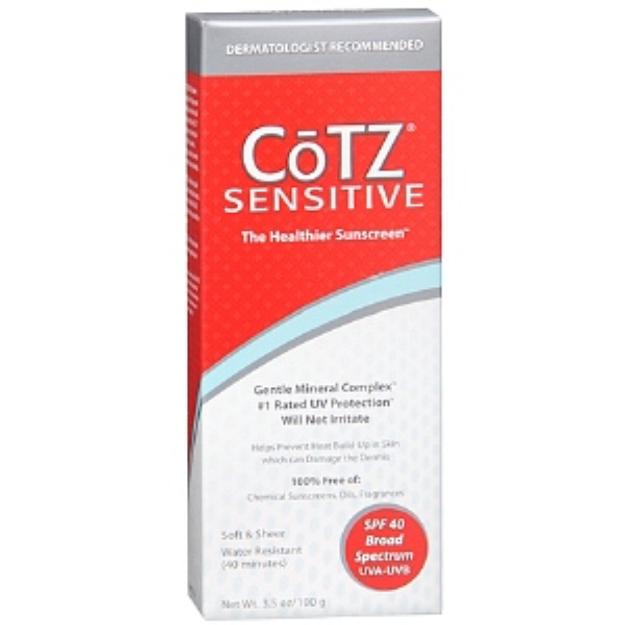CoTZ Sensitive Sunscreen
