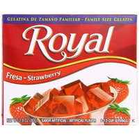 Royal Bilingual Gelatin, Strawberry, 2.8-Ounce (Pack of 12)