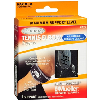 Mueller Tennis Elbow Support, Black, One Size, 1 ea
