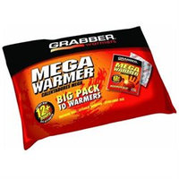 Grabber Mega Warmers Big Pack, 10 Units MWES10