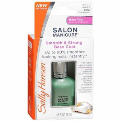 Sally Hansen Salon Manicure Smooth & Strong Base Coat 0.5 fl oz (14.7 ml)