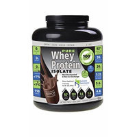Non-GMO Pure Whey Protein Isolate: Instanized to Easy Mixing: Lactose Free: Kosher Certified: Naturally Flavored Dutch Chocolate: Sweetened by Stevia: Gluten Free: Highest BCAAs and Glutamines: Zero Fat, Cholesterol, Carbohydrates, Fillers and...