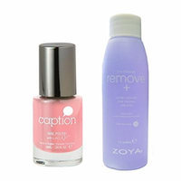 Bundle of Two Items: Caption Nail Polish in Perfects Not in My Vocab .34 oz with Nail Polish Remover 2 oz