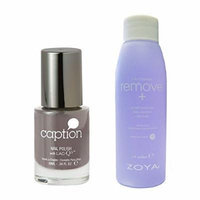 Bundle of Two Items: Caption Nail Polish in Romance vs Reality .34 oz with Nail Polish Remover 2 oz