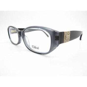 Chloe Cl 1216 Eyeglasses Grey Transparent Black Matte Gold Cl1216-c01-51mm