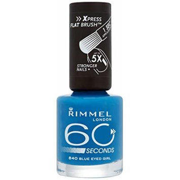 Rimmel London 60 Seconds Nail Polish - Blue Eyed Girl #231