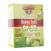 Barlean's Organic Oils Omega Swirl To-Go Omega-3 Fish Oil