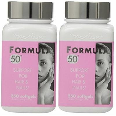 Marlyn Formula 50 Support For Hair & Nails, 250 Softgels (PACK OF 2)