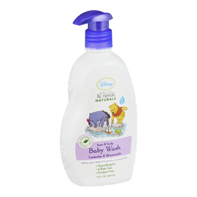 Disney Daily Renewal Naturals Hair & Body Baby Wash Lavender & Chamomile