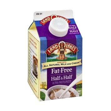 Land O'Lakes Half and Half Fat-Free
