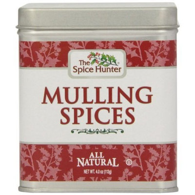 The Spice Hunter Winter Sippers Mulling Spices Tin, 4 Ounce