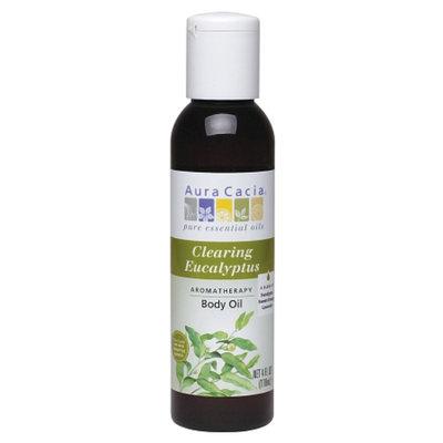 Aura Cacia Aromatherapy Body Oil Clearing Eucalyptus