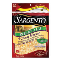 Sargento Reduced Fat 4 Cheese Mexican Shredded Cheese 8 oz