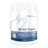 Designs for Health , BCAA Powder with L-Glutamine , 270g.
