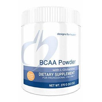 Designs for Health , BCAA Powder with L-Glutamine , 270g.