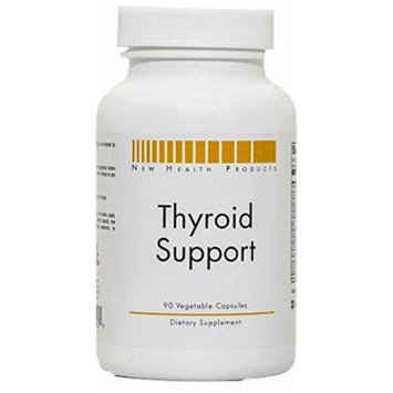 New Health Products Thyroid Support (90 Vegetable Capsules)