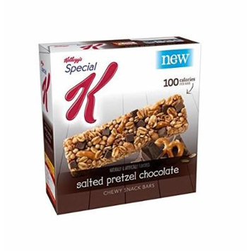 Kelloggs Special K Snack Bars Salted Pretzel Chocolate 0.88 Oz ( 12 in a Pack )