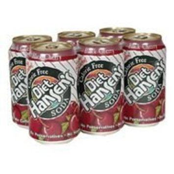 Hansen's Natural Beverage Hansen'S Diet Black Cherry Can ( 4x6/12 OZ) ( Value Bulk Multi-pack)